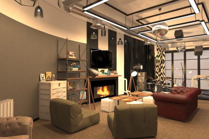 Дизайн Коворкинг пространства